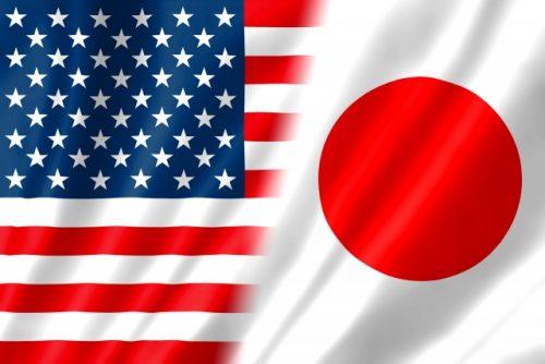日米の国旗