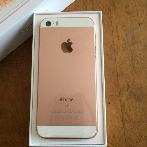 iPhoneSE ピンク本体画像
