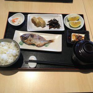 九份小町の朝食は和食