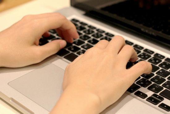 PCでブログを書く