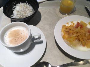 アパホテル大阪肥後橋駅前の朝食デザート