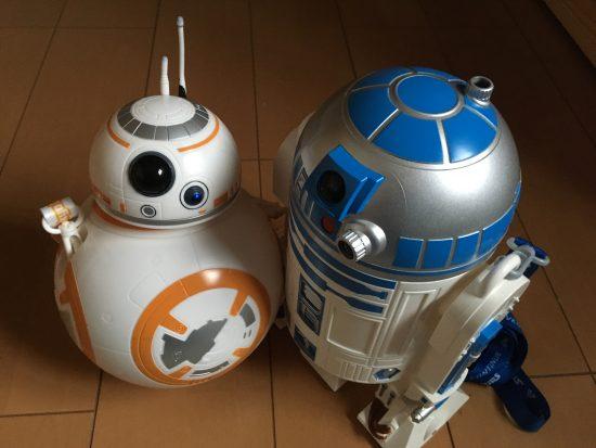 R2D2とBB8のポップコーンケース