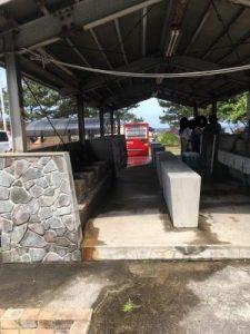 鮎川園地の炊事場