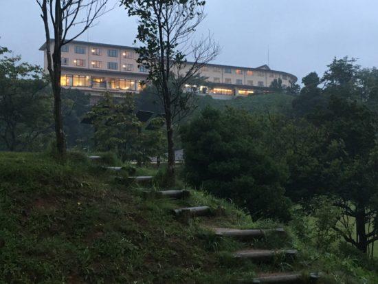 休暇村竹野海岸の本館ホテル