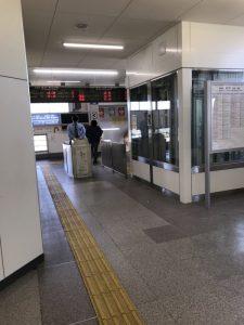 芦原温泉駅の改札