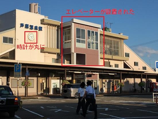 芦原温泉駅の駅舎