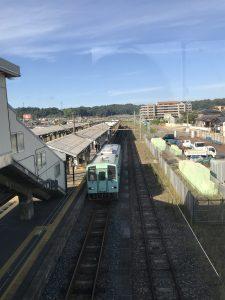 芦原温泉駅の線路