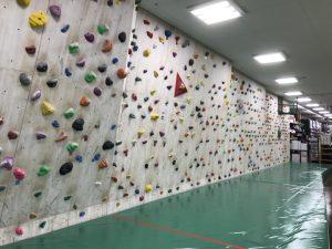 ボルタリングの壁