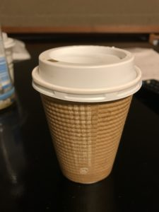 コーヒーはテイクアウトも可
