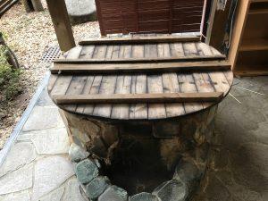 温泉卵づくり体験の温泉