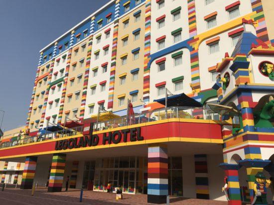 レゴランドホテル正面