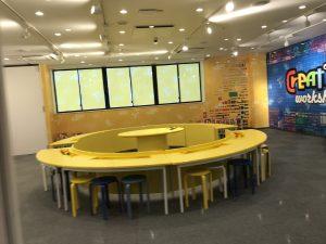 ロボティックプレイセンターの教室