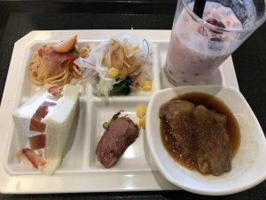 大江戸温泉ベリーフェア食事