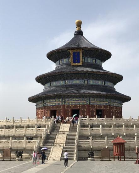 中国 北京にある世界遺産、天壇...