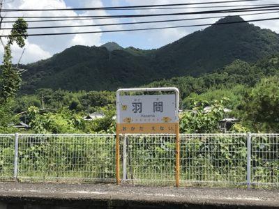 琴平電鉄 羽間駅