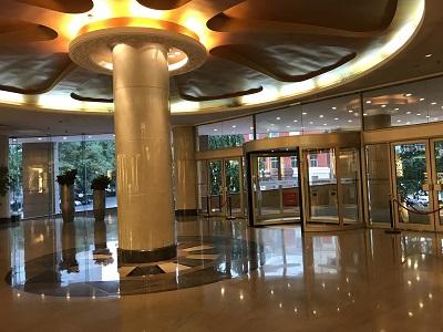 ハワードジョンソンパラゴン北京のエントランス