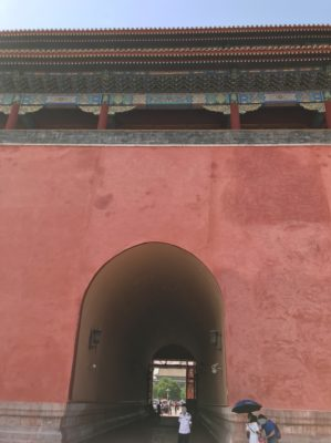 午門の皇帝専用出入口