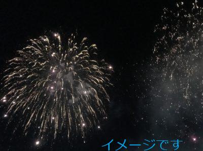 テアトロンの花火