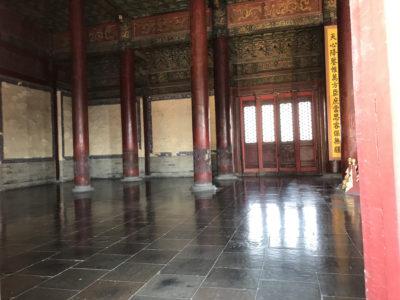 保和殿の内部