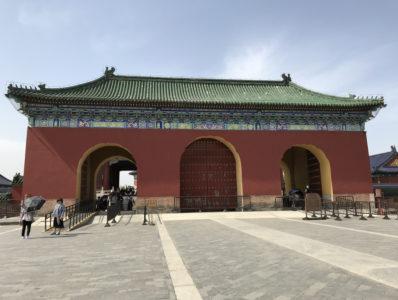 祈年殿の前門