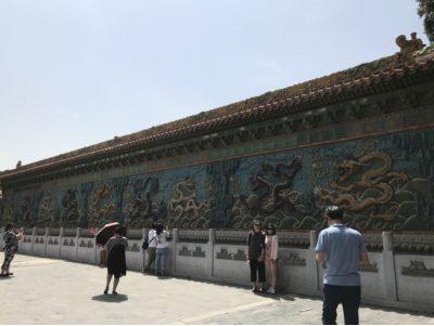 故宮の九龍壁