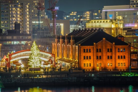 横浜赤レンガ倉庫のクリスマス