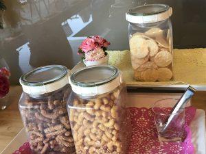 花cafeの無料のお菓子