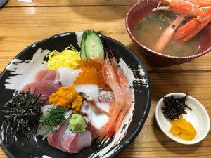 嵐の櫻井君が食べた海鮮丼