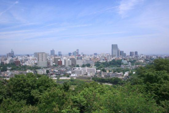 杜の都 仙台の街