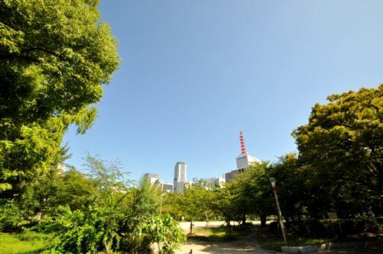 大阪靭公園