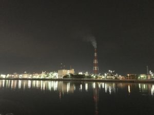 四日市の工業夜景