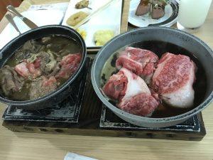 近江牛のすき焼き