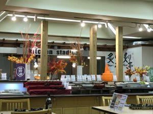 休暇村近江八幡の西館のレストラン