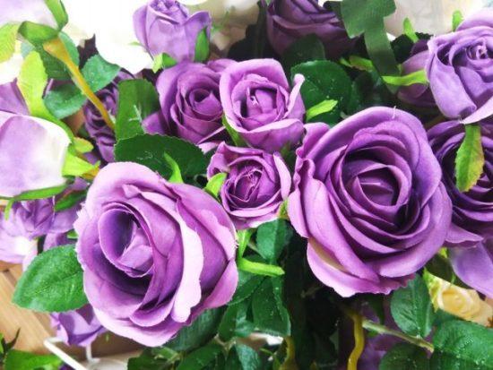 紫のバラ,むらさきの薔薇