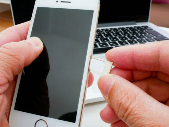 SIMカードの入れ替え、格安SIM